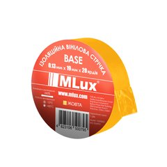 Vinyl PVC tape MLux BASE 19 mm x 20 yards (152000008) Yellow