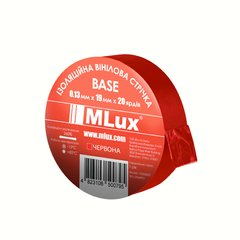 Vinyl PVC tape MLux BASE 19 mm x 20 yards (152000007) Red