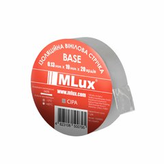 Vinyl PVC tape MLux BASE 19 mm x 20 yards (152000006) Gray