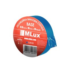 Vinyl PVC tape MLux BASE 19 mm x 20 yards (152000010) Blue
