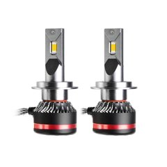 LED lamps MLux Red Line H7, 45 W, 4300°К photo